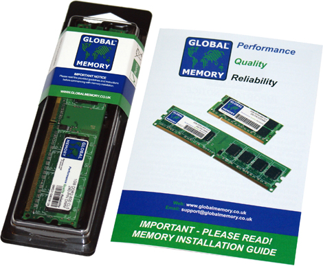 2GB DDR2 533MHz PC2-4200 240-PIN DIMM MEMORY RAM FOR DELL DESKTOPS